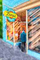Troy's Snack Shack - Montezuma Georgia Art Print