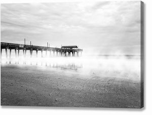 Tybee Island Fishing Pier - Georgia Canvas Print