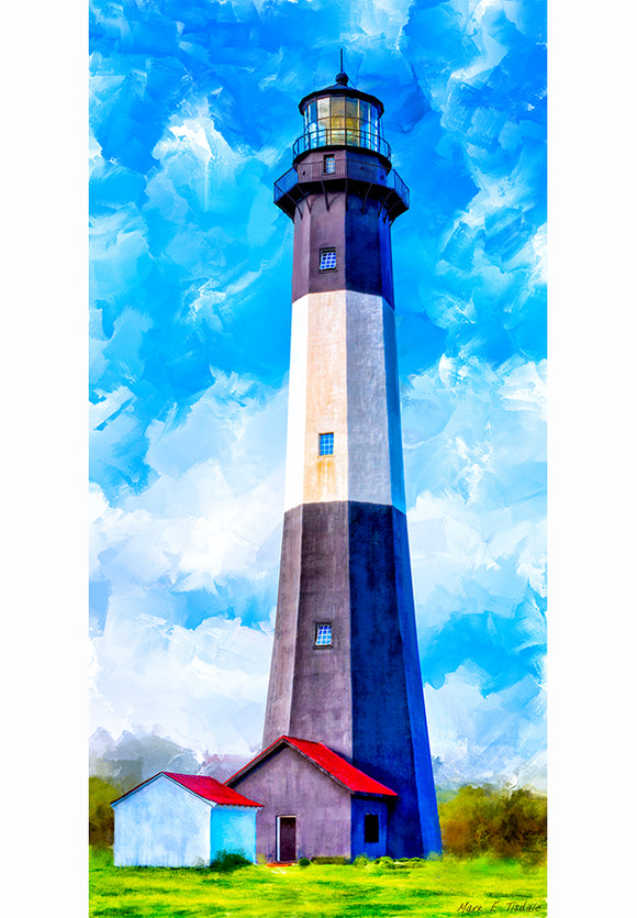Tybee Island Georgia - Lighthouse Art Print