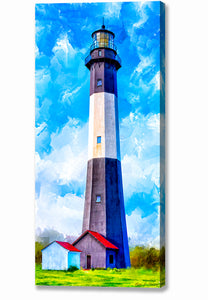 Tybee Island Georgia - Lighthouse Canvas Print