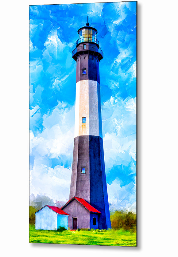 Tybee Island Georgia - Lighthouse Metal Print