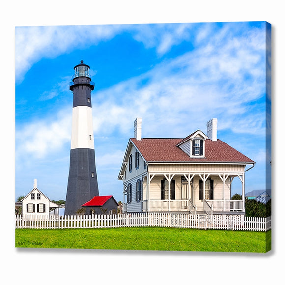 Tybee Island Lighthouse - Georgia Coast Canvas Print