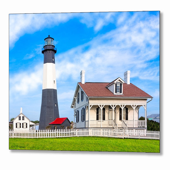 Tybee Island Lighthouse - Georgia Coast Metal Print