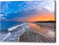 Tybee Island Sunset - Georgia Coast Canvas Print