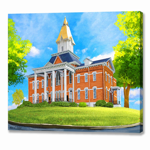 University of North Georgia - Dahlonega Canvas Print