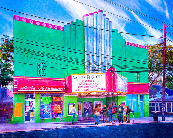 Variety Playhouse - Atlanta Art Print