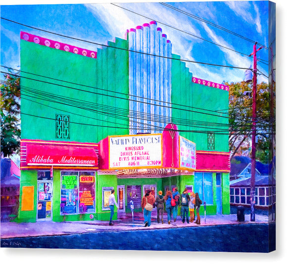 Variety Playhouse - Atlanta Canvas Print