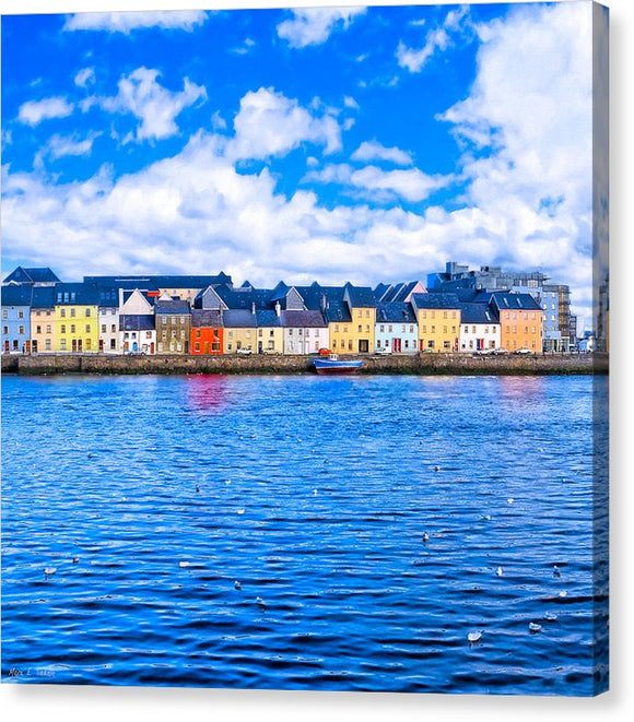 View From Claddagh Quay - Galway - Canvas Print