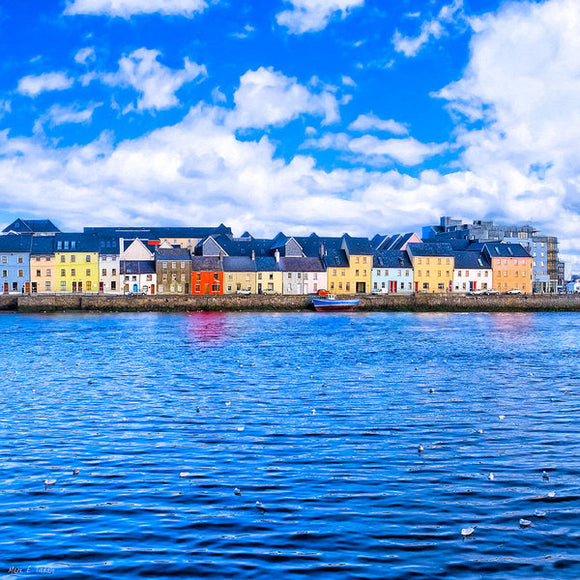 View From Claddagh Quay - Galway - Art Print