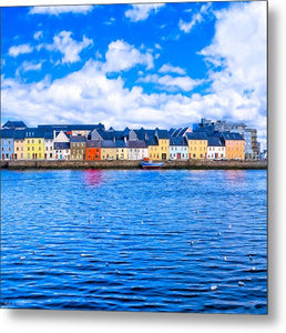View From Claddagh Quay - Galway - Metal Print