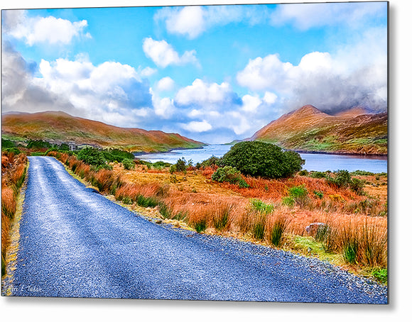 Walking Connemara - Irish Landscape Metal Print
