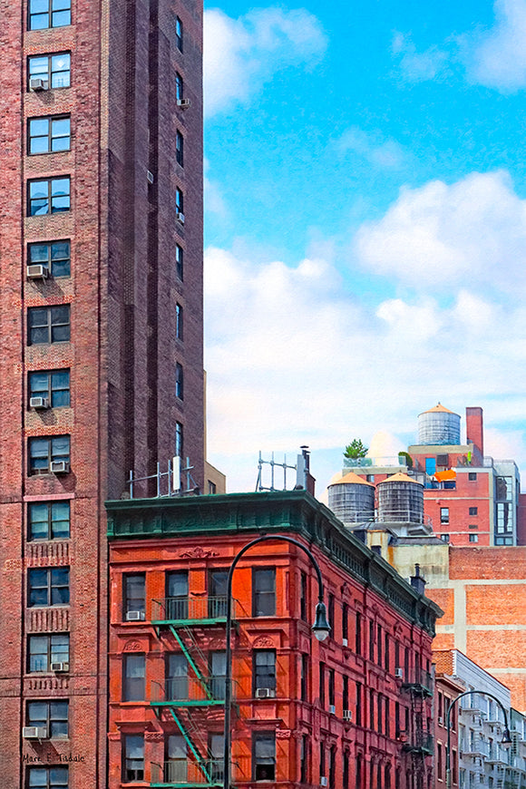 West Village Architecture - New York City Art Print