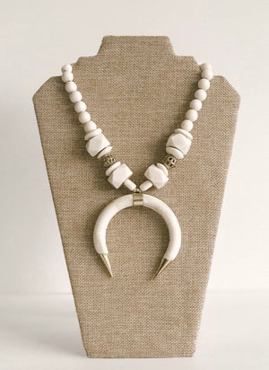 The Ivory Crescent Necklace