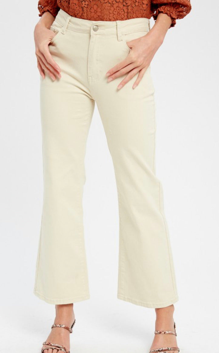 Julia Wide Leg Crop Pants