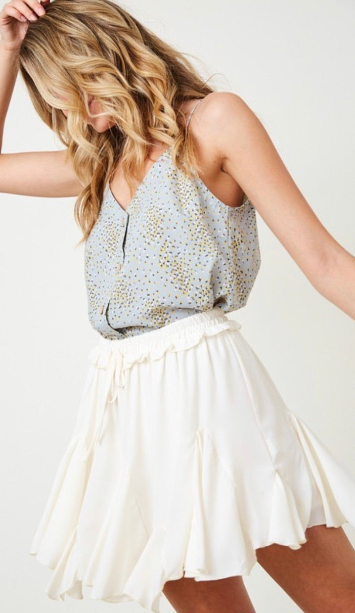 Alma Ruffled Skirt