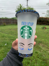 Load image into Gallery viewer, Makeup Themed Cup