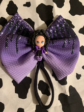 Load image into Gallery viewer, Selena Hair Bow ( LARGE bow on HEADBAND )