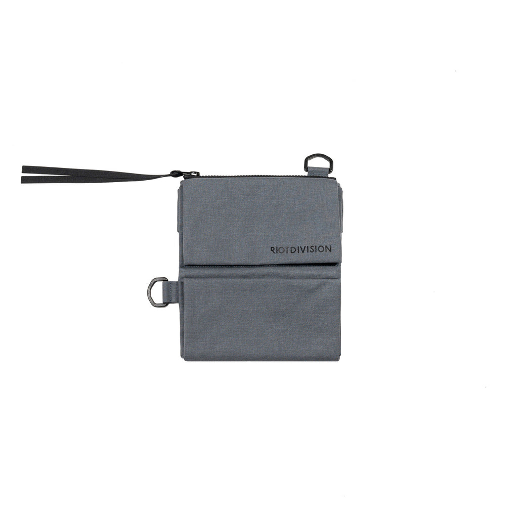 RIOTDIVISION Wallet With Strap RD-WV2WS GREY