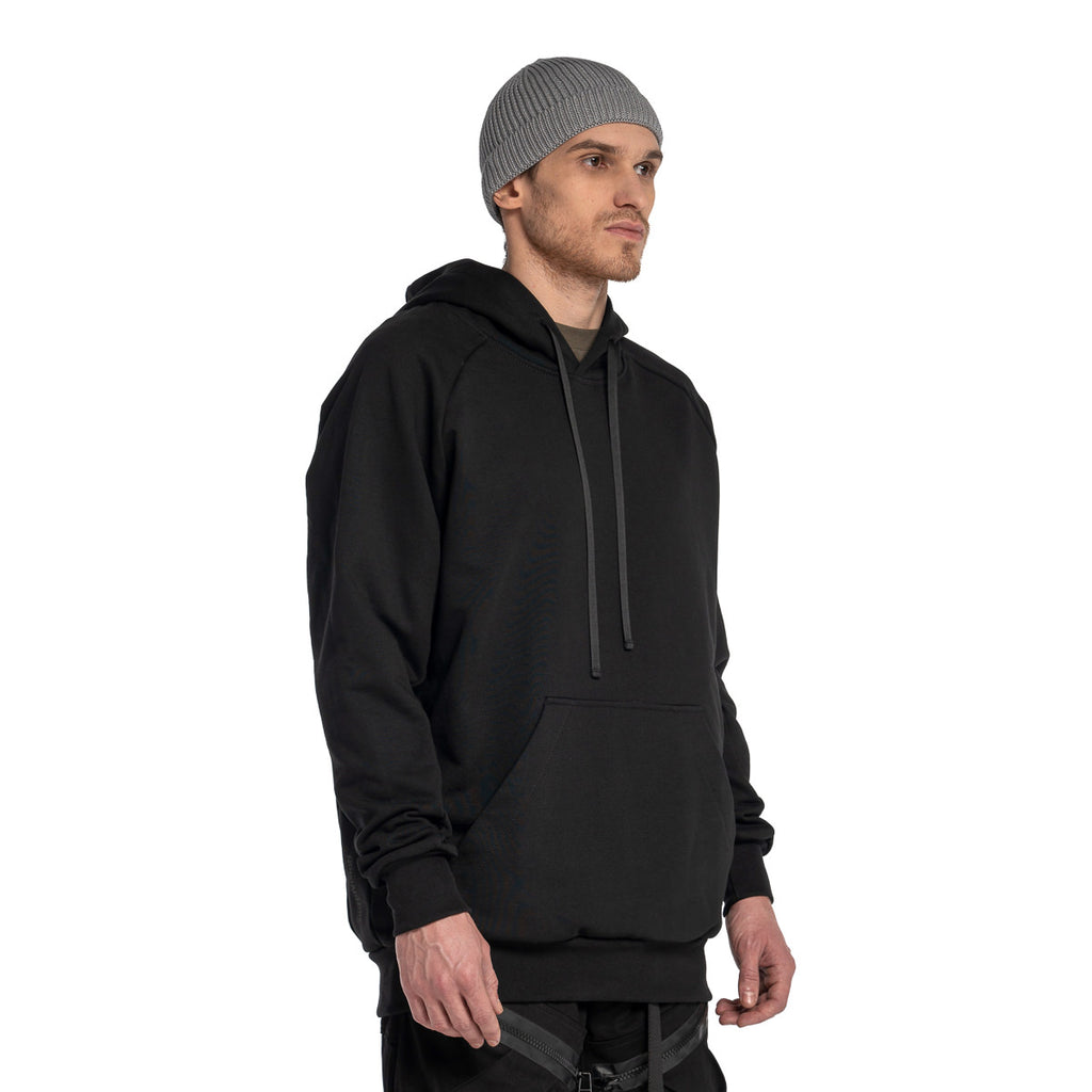 RIOTDIVISION No Zip Hoodie 19 RD-NZH19 BLACK