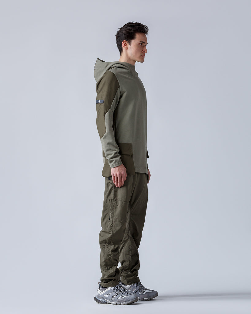 Riot Division Stealth Hoodie V3  Patched Pockets RD-SHV3PP KHAKI