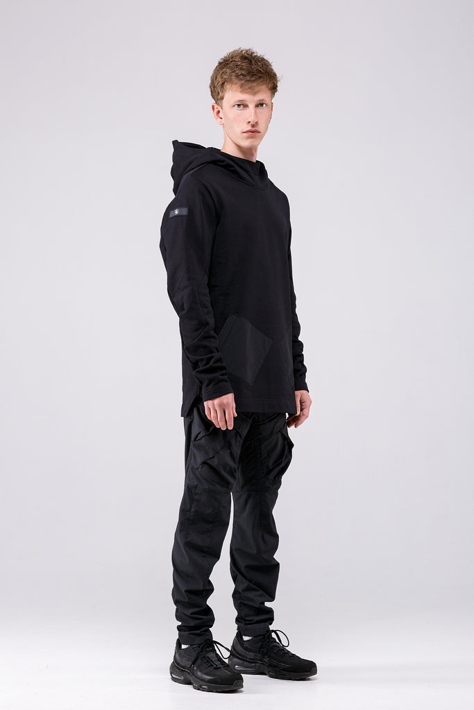 Riot Division 2 Pockets Stealth Hoodie RD-2PSH FW18 BLACK