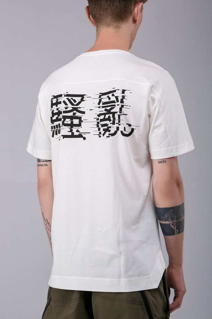Riot Division T-shirt Angularity Saoluan WHITE