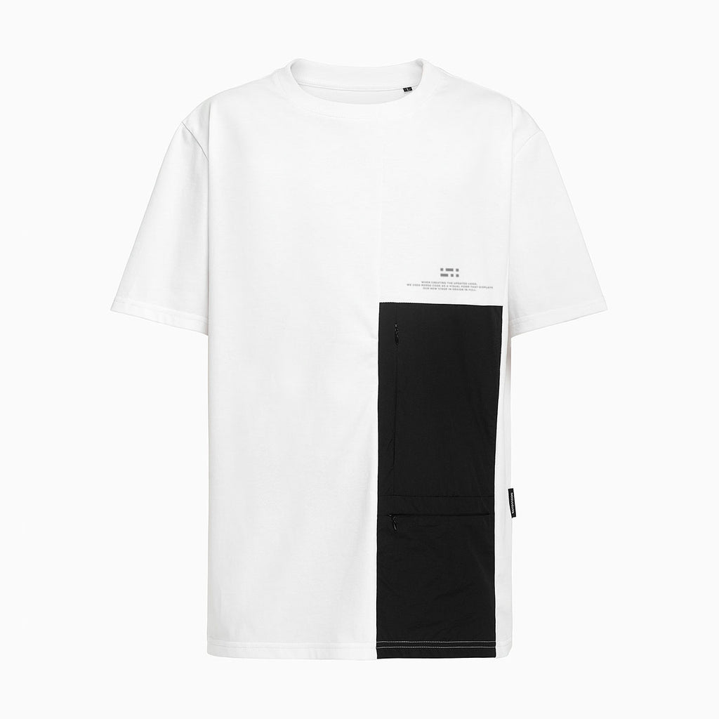 Patched Pockets T-shirt RD-PPT WHITE