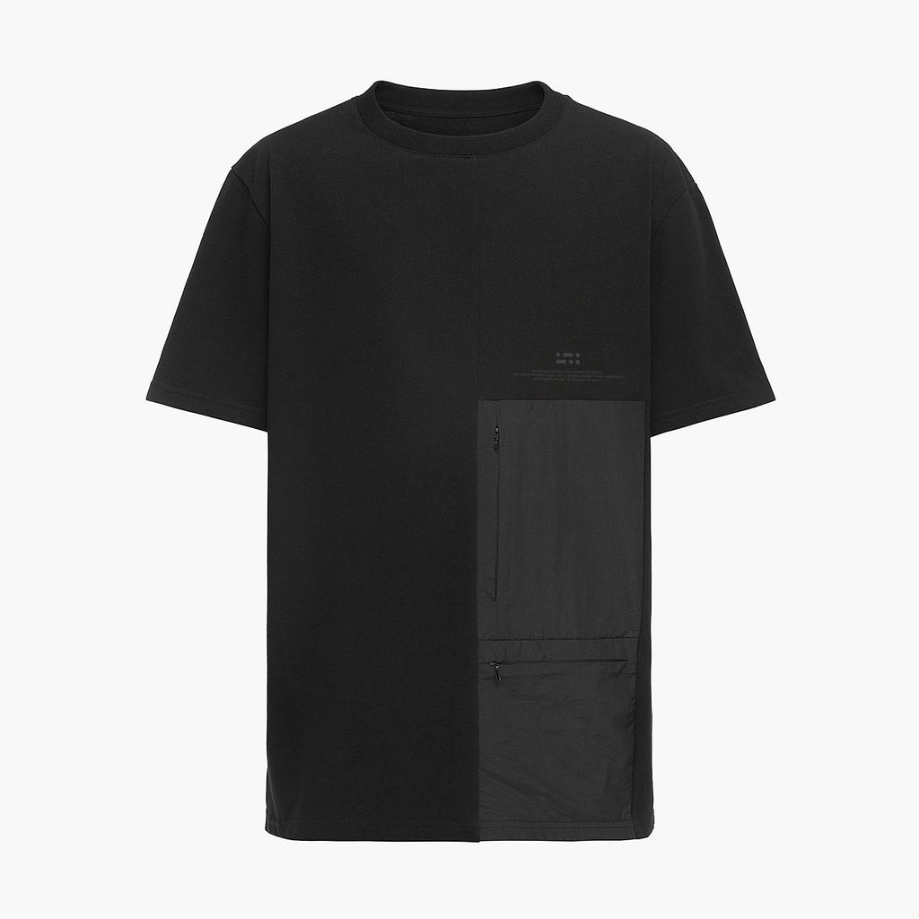 Patched Pockets T-shirt RD-PPT BLACK