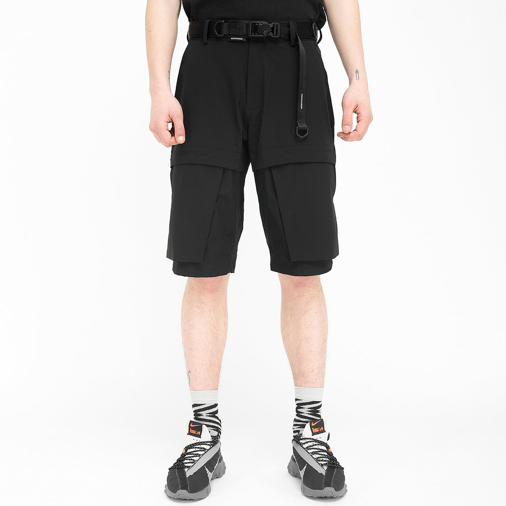 Particle Shorts 020 RD-PS020 BLACK