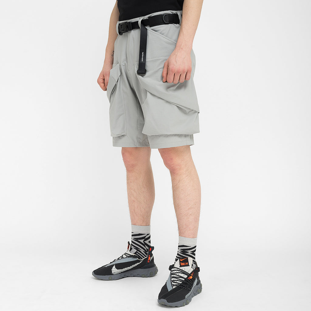 Nullus Shorts 020 RD-NS020 GREY