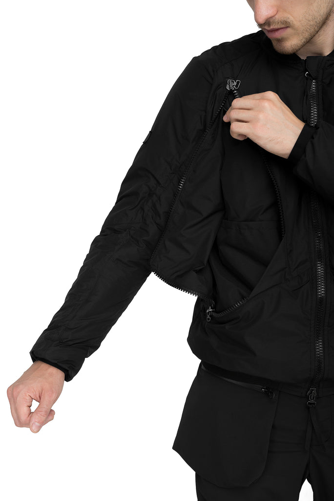 Riot Division Urban Bomber Insulated RD-UBI BLACK