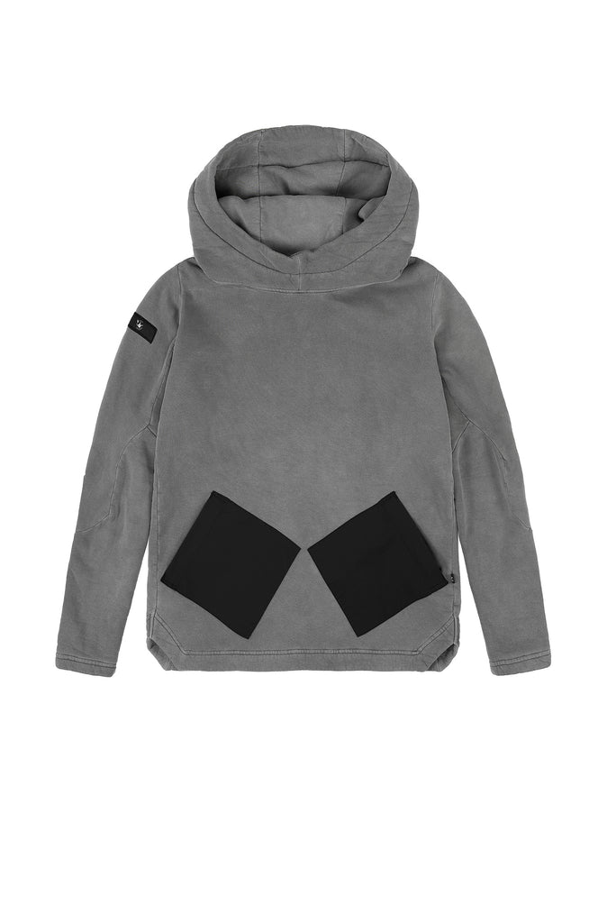 Riot Division 2 Pockets Stealth Hoodie RD-2PSH Garment Dyed [SS19]