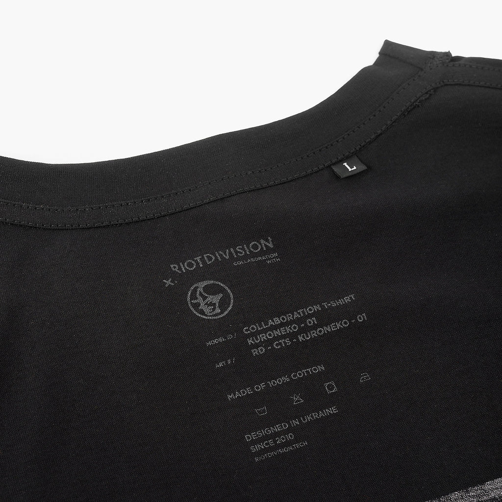 Collaboration T-shirt Kuroneko-01 RD-CTS-KURONEKO-01