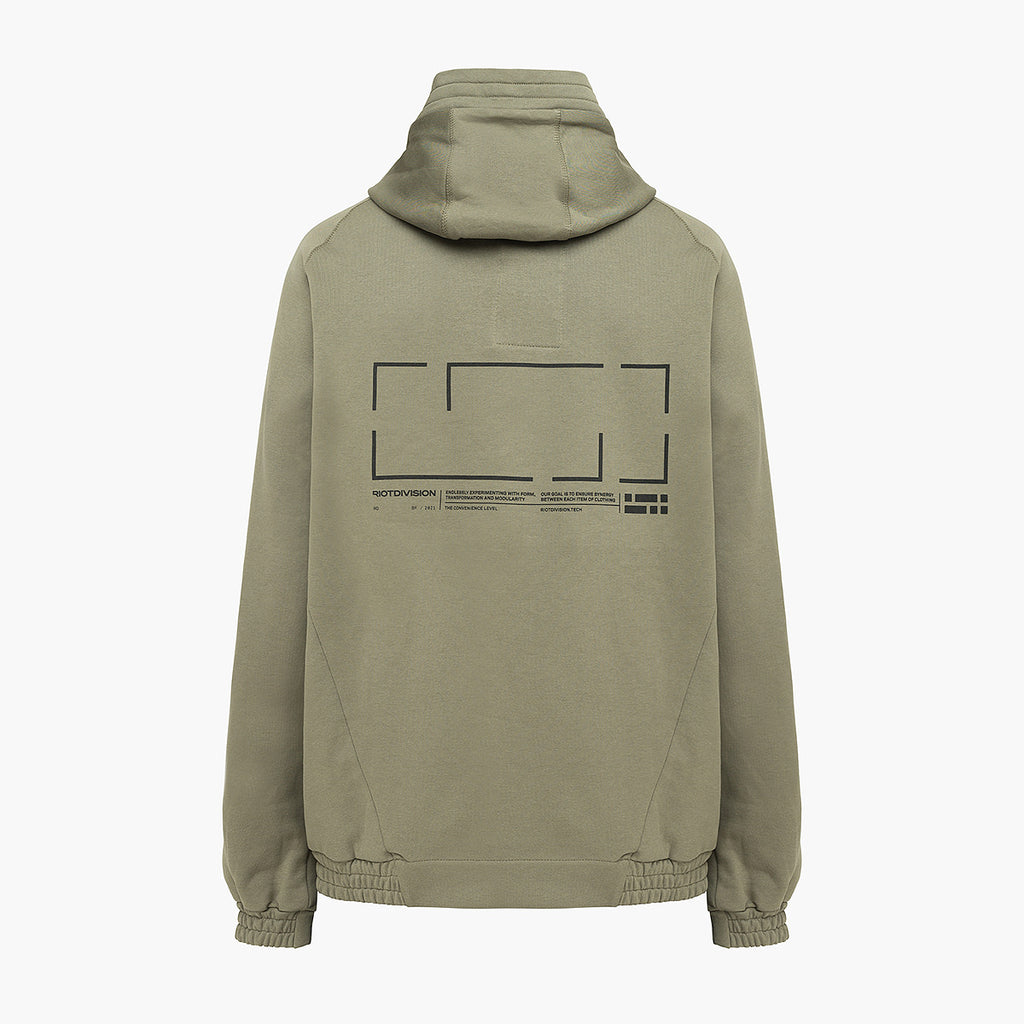 Construction Hoodie RD-CHOOD KHAKI