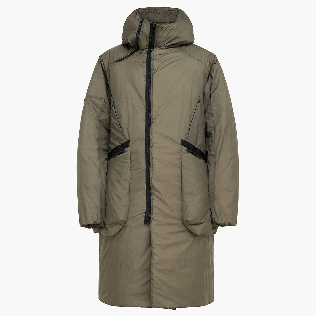 Bifurcation Down Jacket Long RD-BDJL BROWN