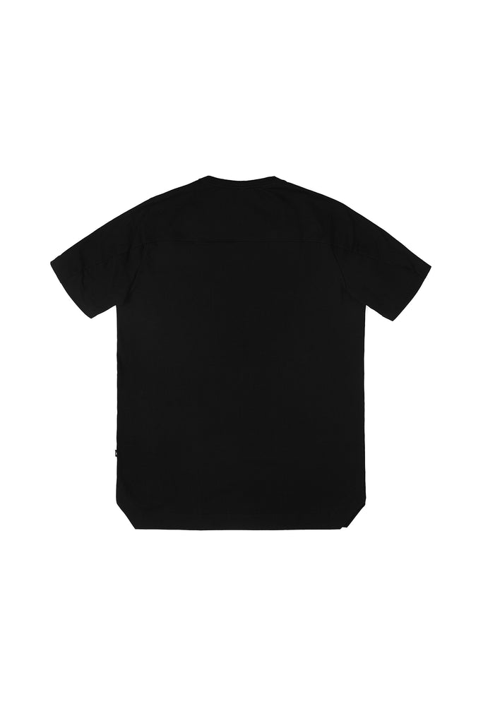 Riot Division T-shirt Angularity Glitch Molotov Logo BLACK