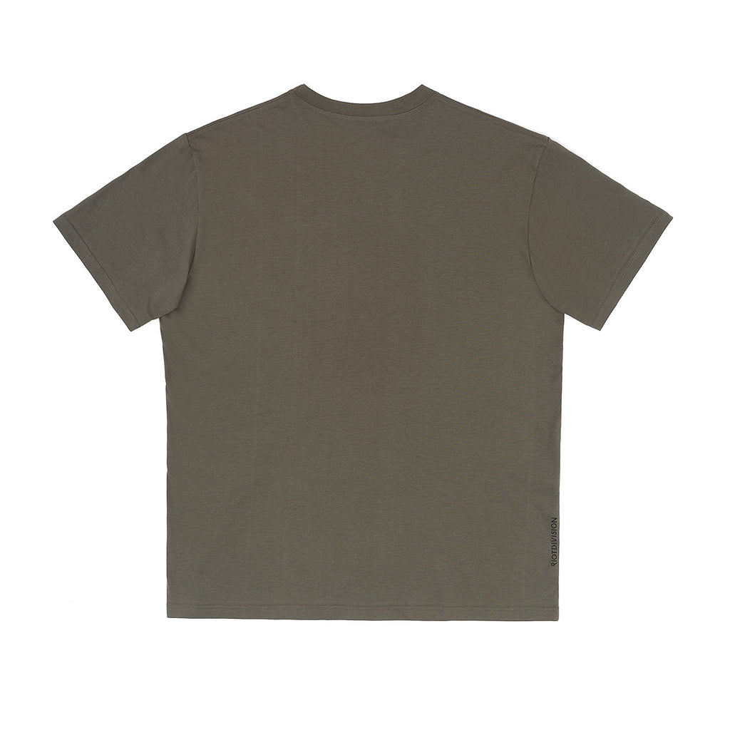 RIOTDIVISION T-shirt Unknown City KHAKI