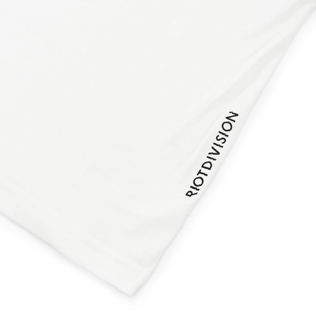 RIOTDIVISION Wide T-shirt Blank WHITE