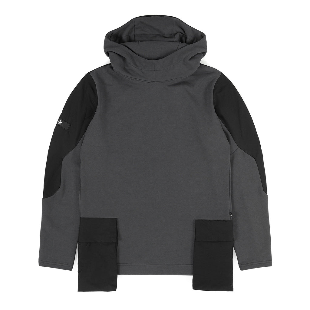 Riot Division Stealth Hoodie V3  Patched Pockets RD-SHV3PP GREY