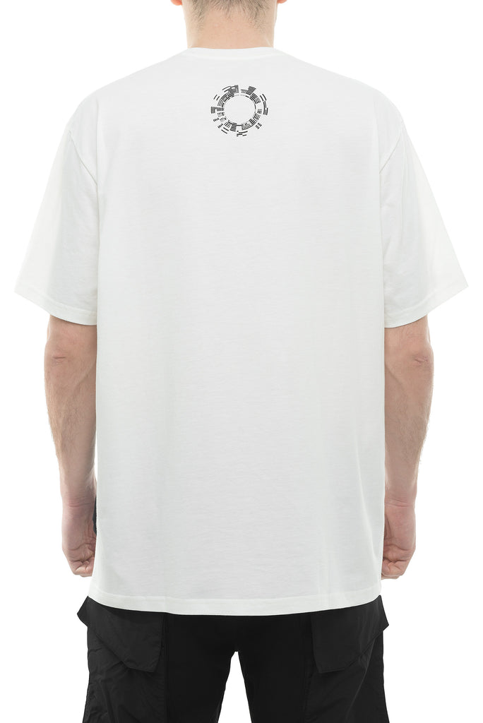 Riot Division T-Shirt Patched Pocket WHITE