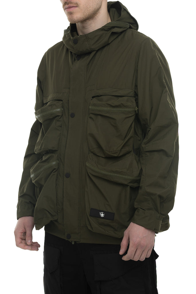 Riot Division Wrapping Parka With Symbiosis System RD-WPWSS KHAKI