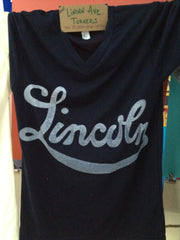 Chi Lincoln Turners - Navy V-Neck -1907