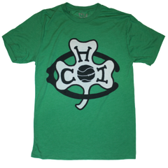 Chicago Shamrocks Basketball tshirt green