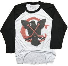 Chicago Hockey Raglan