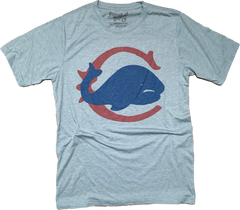 Chicago Whales Baseball - eco blue