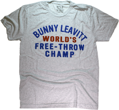 Chicago's Bunny Leavitt Free Throw Champ tshirt