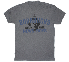 Burroughs Newsboys Boston baseball tshirt