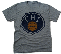 Chicago Duffy Florals - heather grey