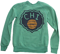 Chicago Duffy Florals Sweatshirt Green