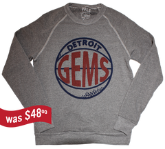 Detroit Gems - Sweatshirt - 1946